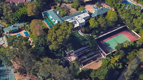 Taylor Swift Beverly Hills mansion