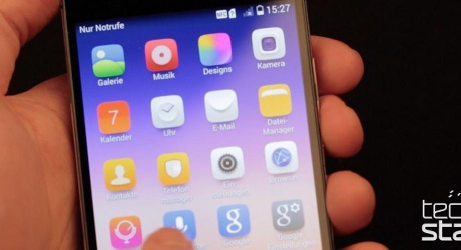 Huawei Ascend P7 im Hands-on: leicht, edel, Groufie