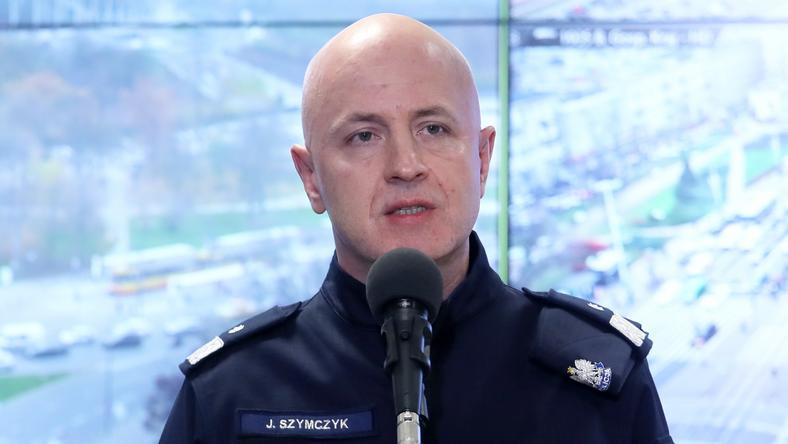 Komendant Główny Policji Jarosław Szymczyk