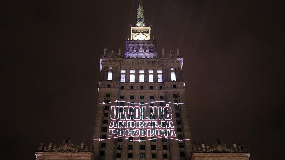 Akcja solidarnościowa z Andrzejem Poczobutem i represjonowanymi Białorusinami