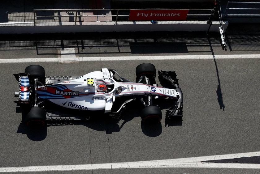 Formula One Test Session