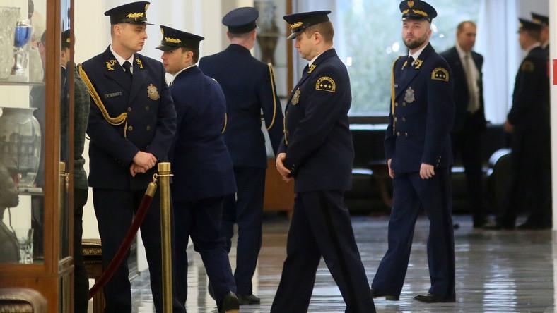 Straż Marszałkowska w Sejmie