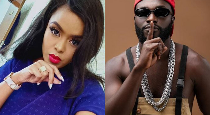 Avril sets record straight after Naiboi called her out for snubbing him