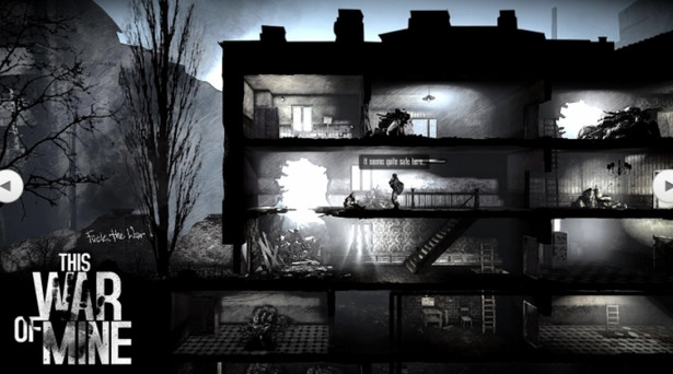"Screen z gry ""This War of Mine"". Źródło: strona producenta www.11bitstudios.com"