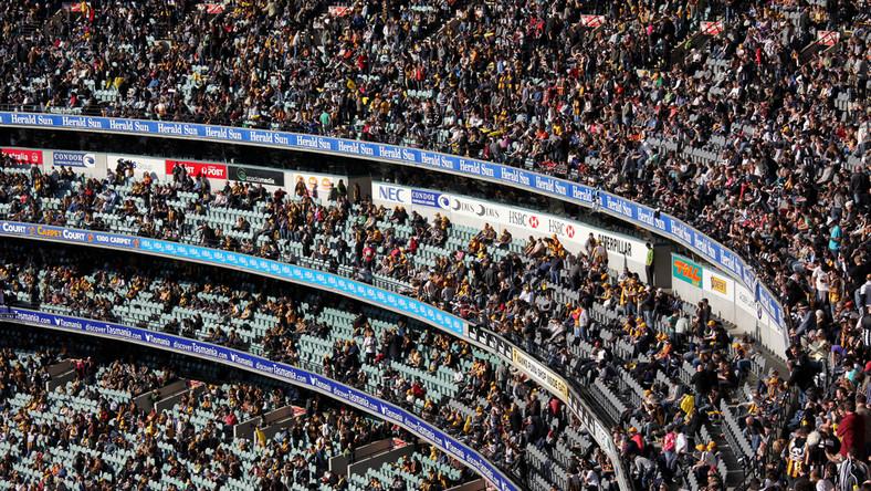 78 tysięcy kibiców na meczu w Melbourne. To największa frekwencja od początku pandemii