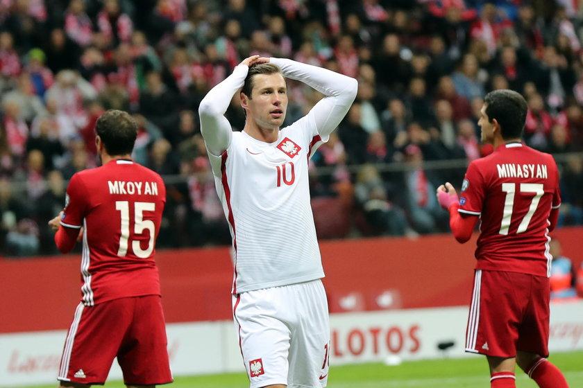 Piłkarze reprezentacji Polski nie grają tak, jak podczas Euro