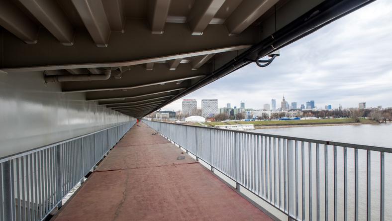 Kładka na moście Łazienkowskim