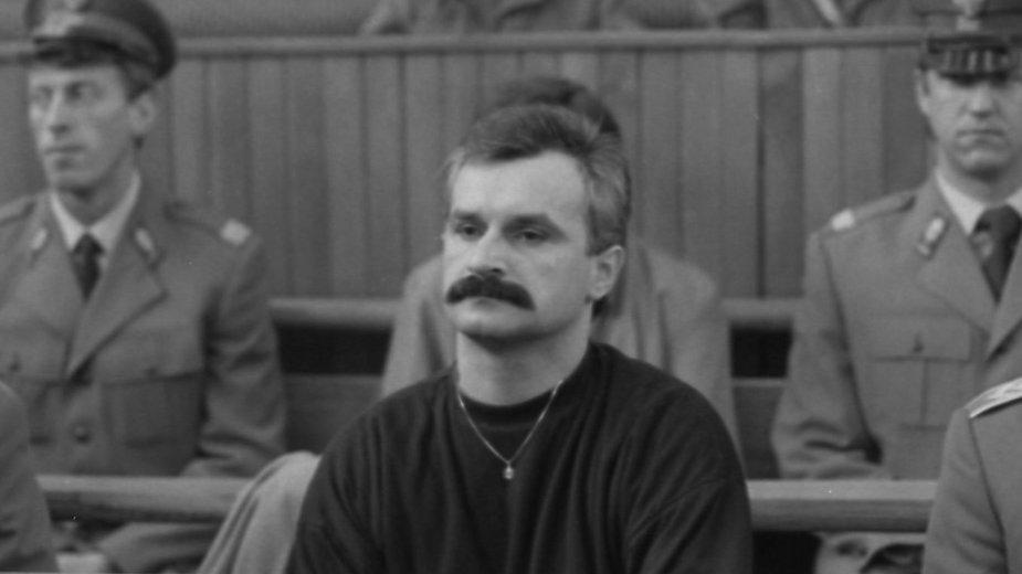 Zdzisław Najmrodzki. Rozprawa w krakowskim sądzie. 1990 r.