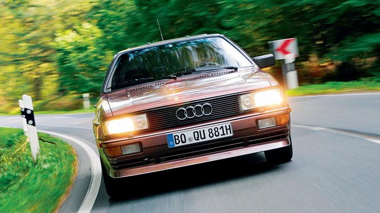 Audi Quattro - klasyk z napędem 4x4