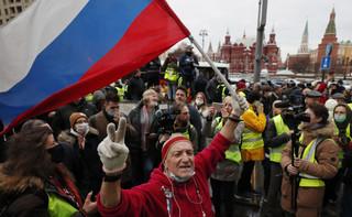 Ponad 1000 osób zatrzymano w związku z protestami w obronie Nawalnego
