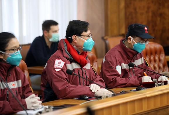 Tim kineskih lekara je, osim Beograda, obišao i druge gradove u Srbiji