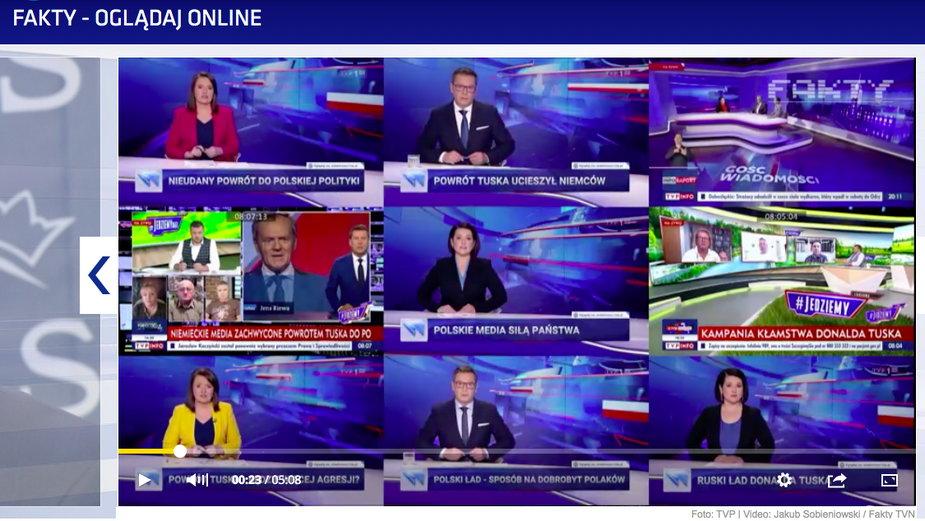 TVN przygotował krytyczny materiał na temat TVP