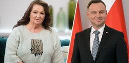 Andrzej Duda złożył życzenia Annie Dymnej na 70. urodziny: dziękuję za łączenie wielkiego talentu ze szlachetnością serca