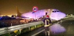 Awaria Boeinga we Włoszech. Samolot runął na drogę