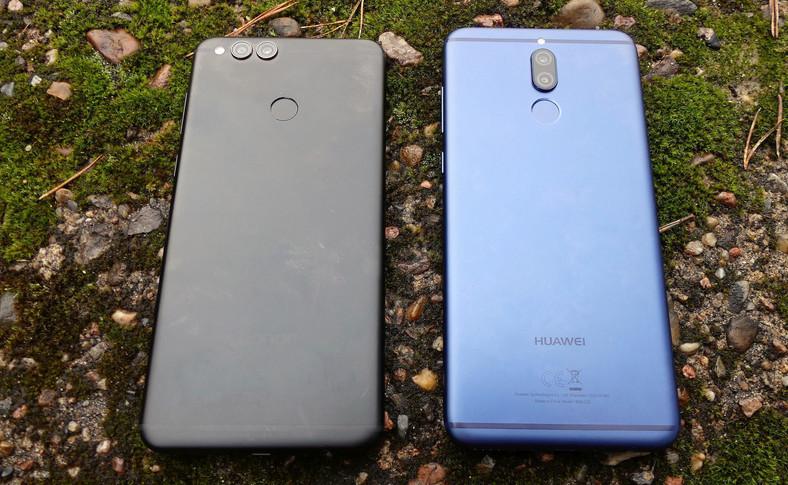 Honor 7X i Huawei Mate 10 Lite