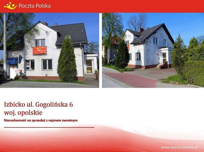 Budynek Poczty Polskiej w Izbicku