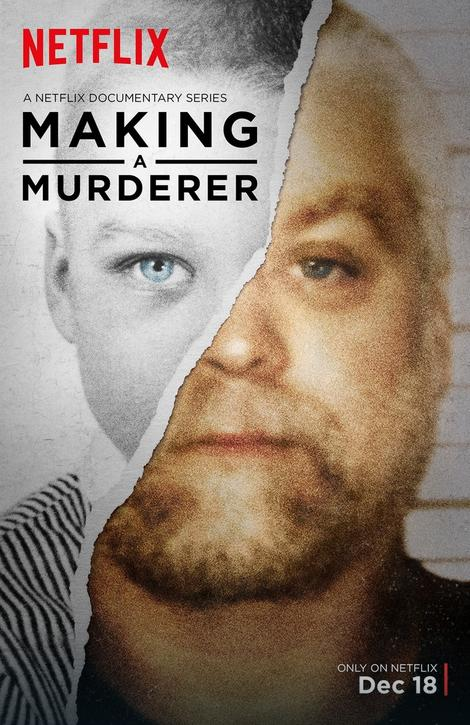 "Plakat serijala ""Making a Murderer"""