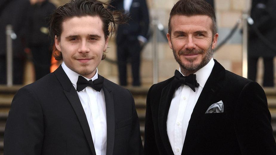 Sławni ojcowie i ich synowie: David Beckham i Brooklyn Beckham