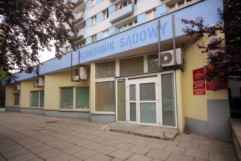 Ktoś ostrzelał kancelarie komornicze na al. Kościuszki w Łodzi?