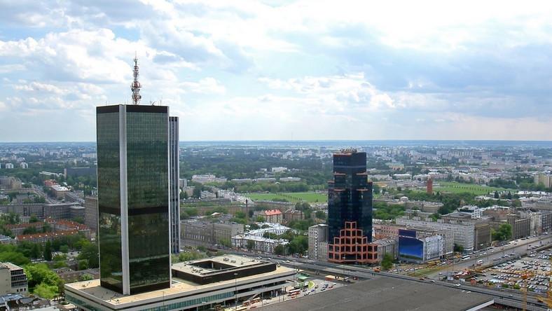 Alarm bombowy w samym centrum Warszawy