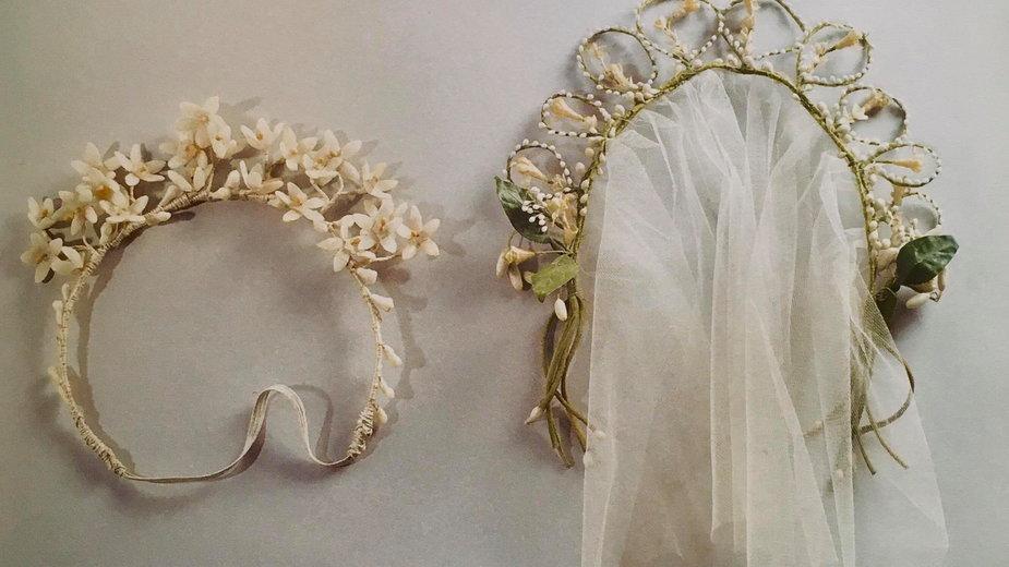 Moda ślubna, lata 20, lata 30 (Fotografia z kolekcji Adama Lei)