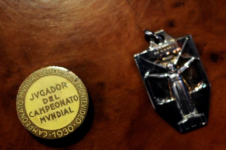 Znača koju je Blagoje Marjanović Moša dobio u Montevideu