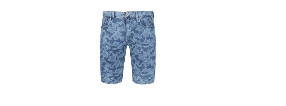 Pepe Jeans Zinc Short Camou Denim