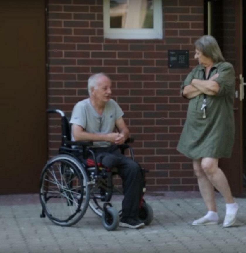 Niepełnosprawnego też chcą się pozbyć