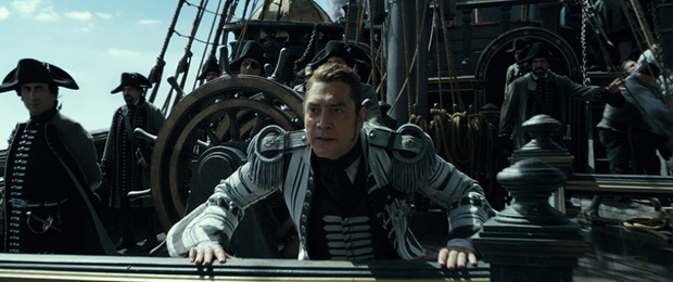 """""""Piraci z Karaibów: Zemsta Salazara"""" - kadr z filmu"""