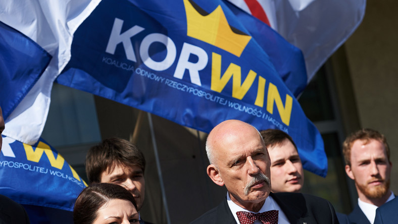 Prezes partii KORWiN, Janusz Korwin-Mikke