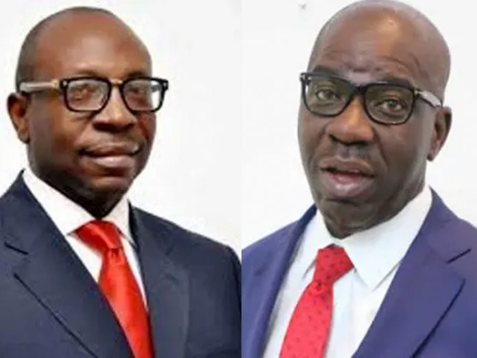 The Edo election is principally between the APC candidate, Pastor Osagie Ize-Iyamu and Governor Godwin Obaseki of the PDP. (PMNews)