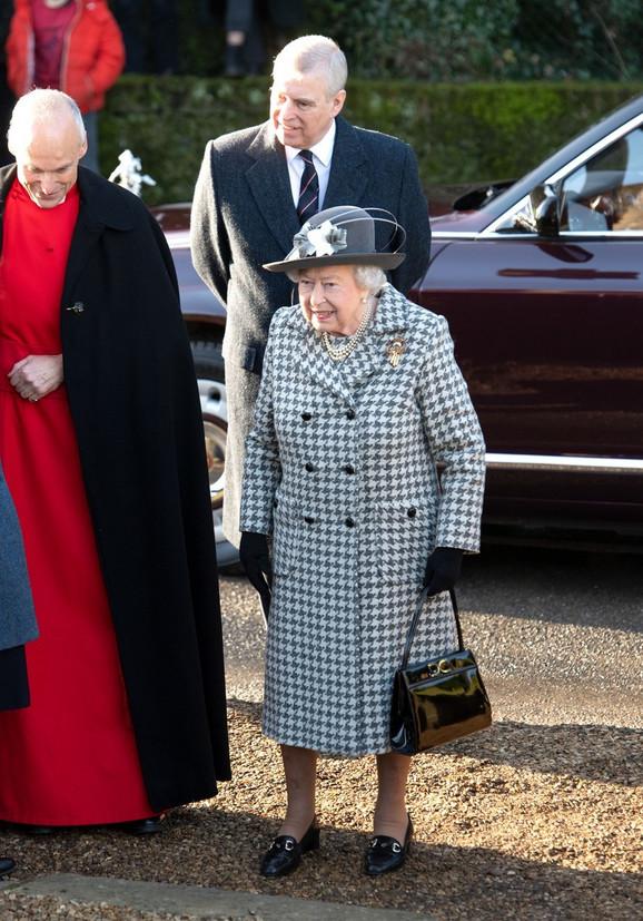 Kraljica Elizabeta i princ Endru