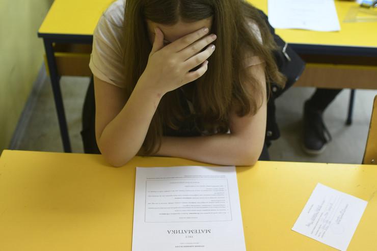matura novi sad 248 probni maturski test matematika osnovna skola ivan gundulic  foto robert getel
