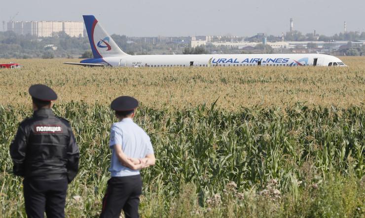 Ural Airlines, Rusija, avion