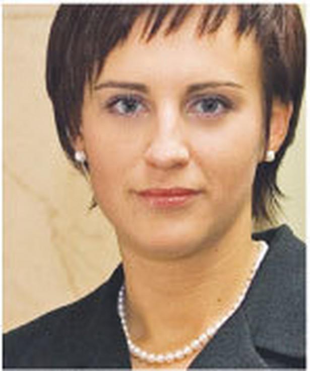 Magdalena Kobos, z Ministerstwa Finansów