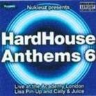 "Kompilacja - ""Hard House Anthems vol. 6 (mixed by Lisa Pin-Up & Cally & Juice)"""