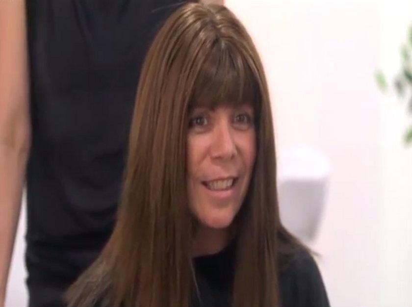 Fryzjerka przykleiła jej włosy super glue!