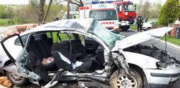 Naćpany kierowca zabił 21-latkę. Trzasnął autem w stertę cegieł