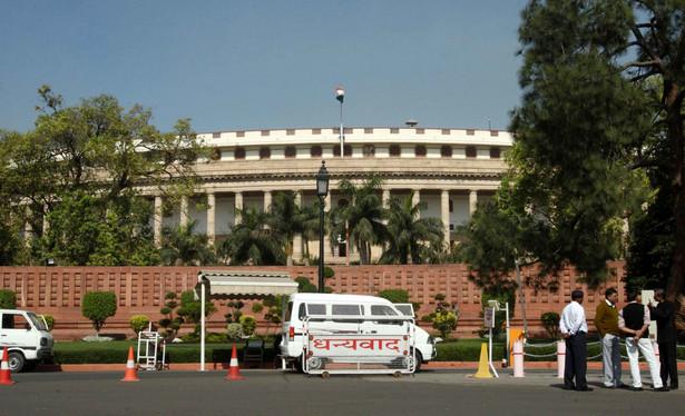 New Delhi - siedziba indyjskiego parlamentu. Fot. Bloomberg