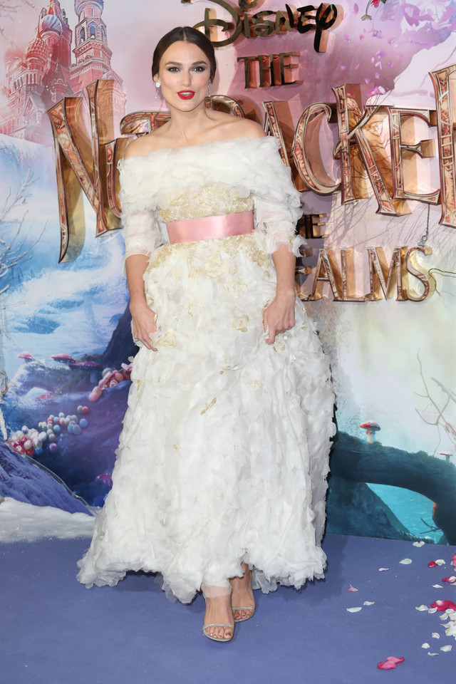 """Keira Knightley at the premiere of the movie """"The Nutcracker and the Four Realms"""""""
