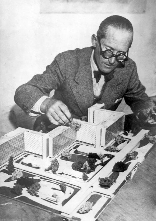 Le Corbusier w 1952 roku