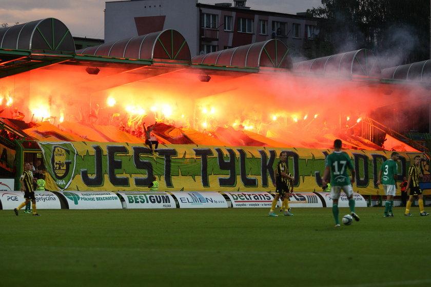 Mecz I ligi GKS Bełchatów - GKS Katowice