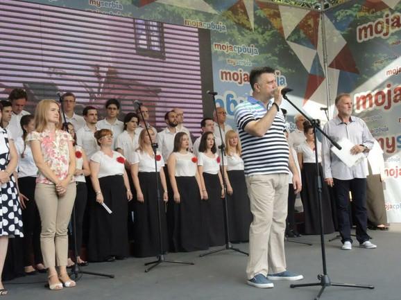 Olgica Miljković i Slobodan Gvozdenović