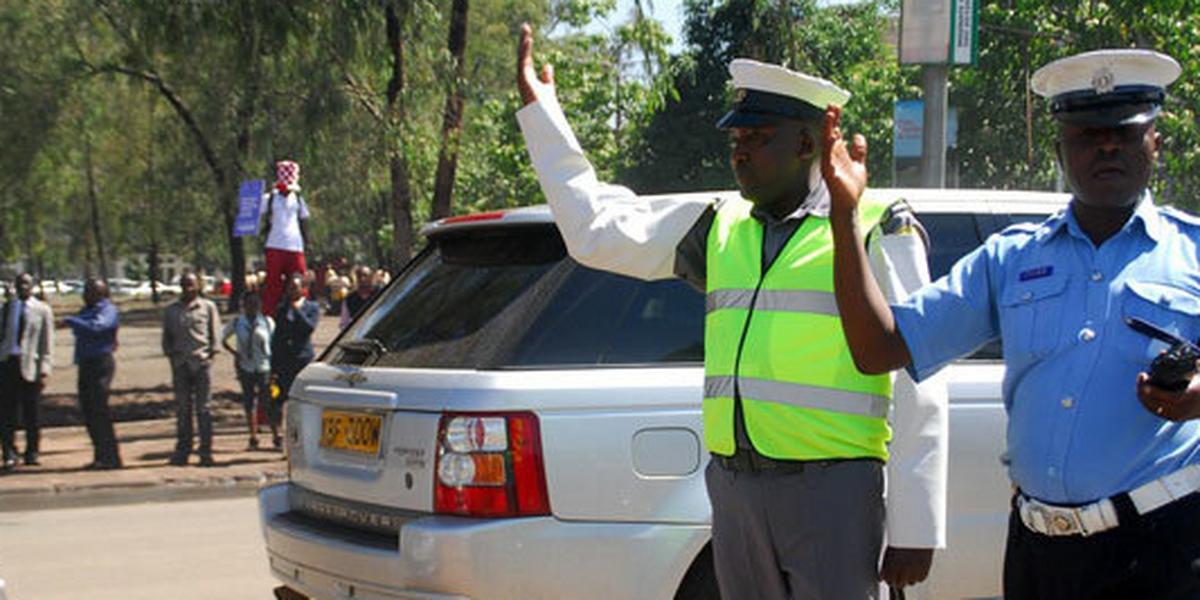 Nairobi Regional Commander James Kianda closes 4 roads in CBD