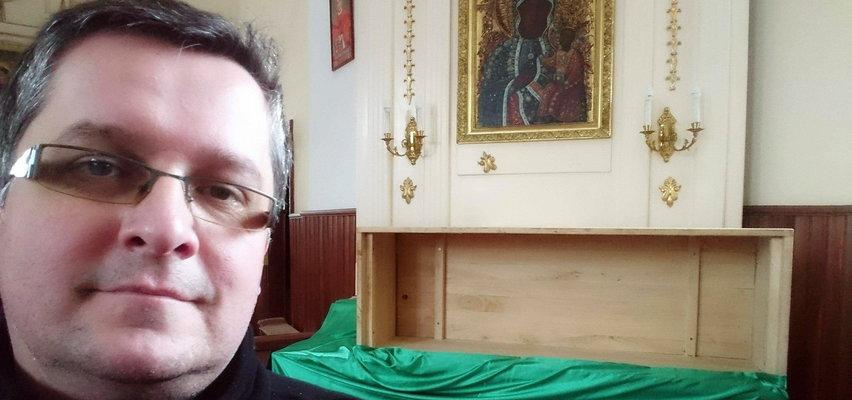 Ksiądz Marcin ratuje zabytkowe kościoły... w nietypowy sposób