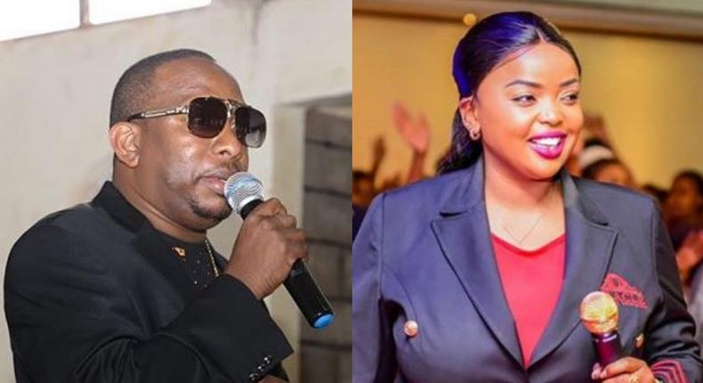 Hilarious reactions as Sonko shares this photo of Raila with Rev. Lucy Natasha