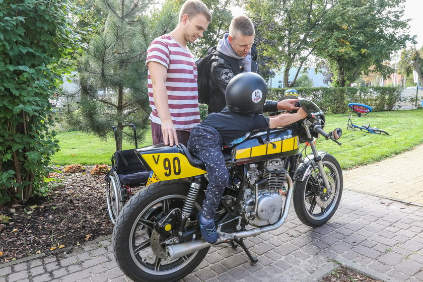 Motocykliści wsparli dzieci z Domu im. Janusza Korczaka
