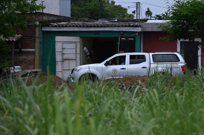 Salwador. Zwłoki 40 osób za domem policjanta
