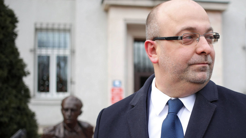 Były podsekretarz stanu w Ministerstwie Sprawiedliwości Łukasz Piebiak