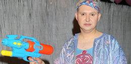 Witkowski jak Moro szaleje z pistoletem